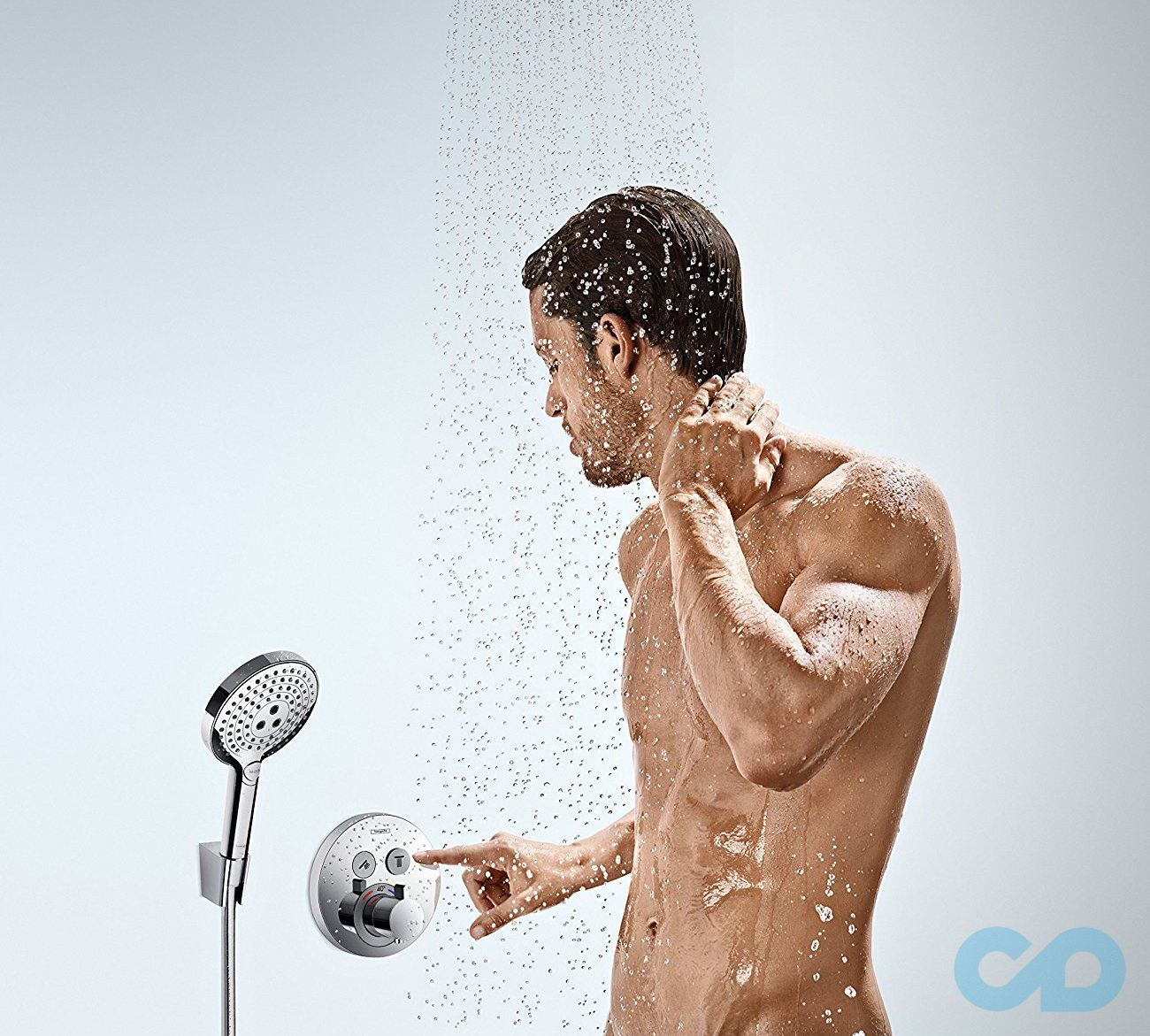 цена Термостат Hansgrohe ShowerSelect S 15748000