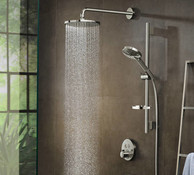 Душевая система Hansgrohe Showerpipe Raindance Select S 2729700S PowderRain